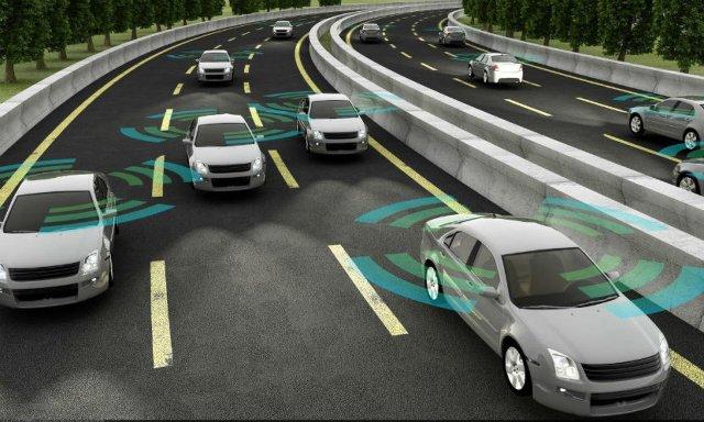 Shared Autonomous Vehicle showing connectivity