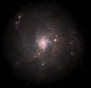 Modeling galactic formation