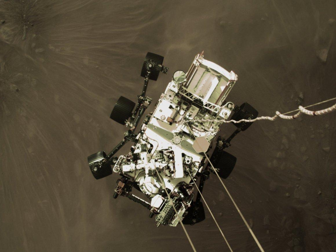 Aterrizaje en Marte