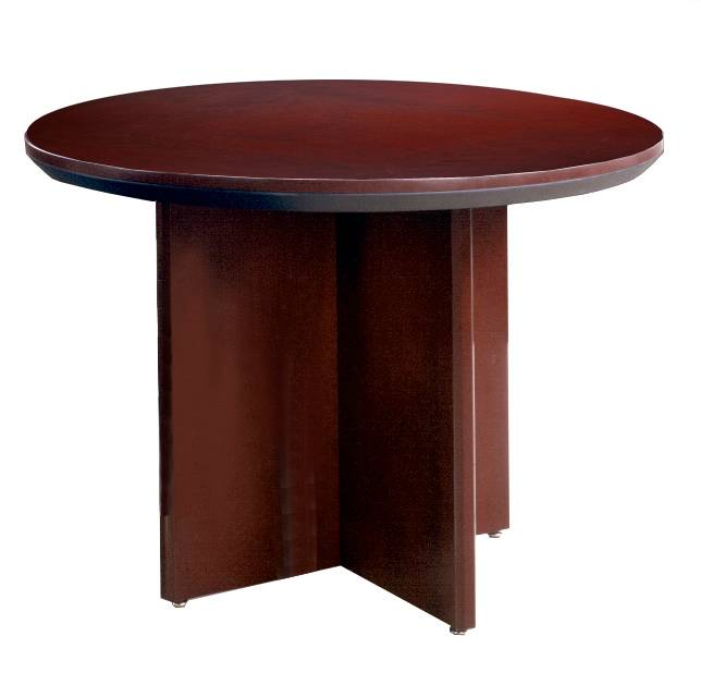 Mayline Corsica Series 42 Round Conference Table FREE