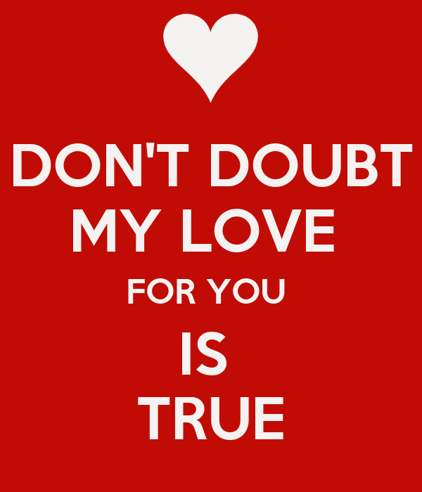 Love Doubts Quotes