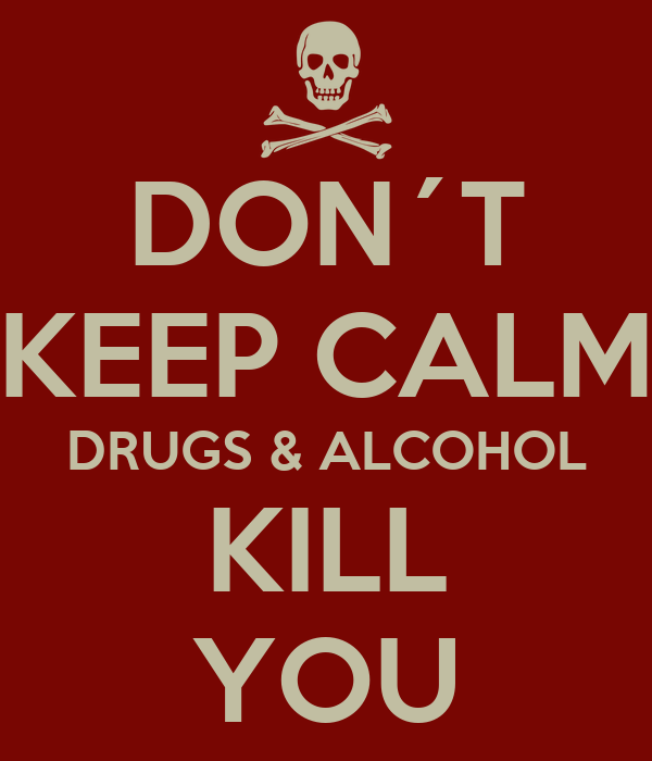 Keep Calm And Be Alcohol Free