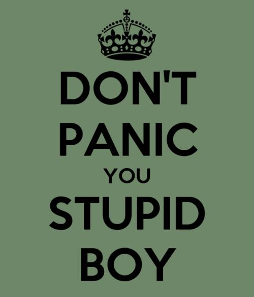 Risultati immagini per stupid boy