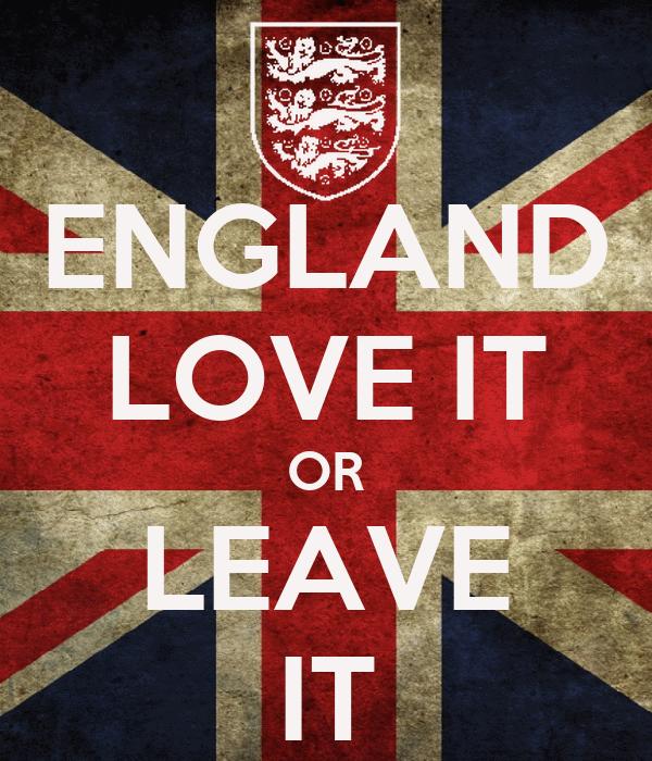 Keep Calm And Leave England