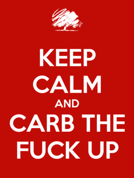 Carb the fuck up