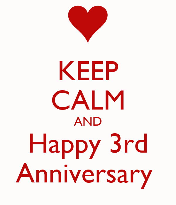 Image result for 3rd anniversary