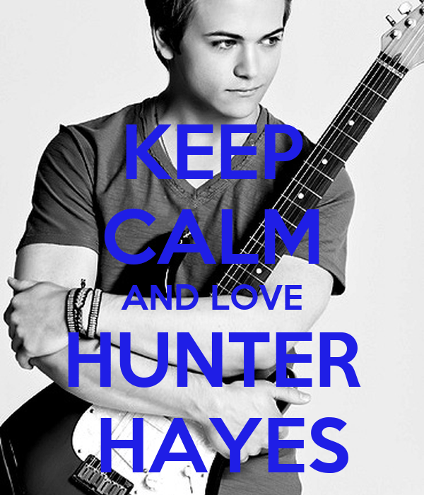 Keep Calm And Love Hunter Hayes Cases