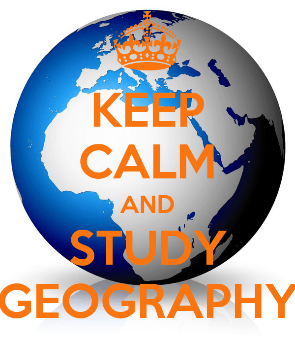 Image result for keep calm and study geography