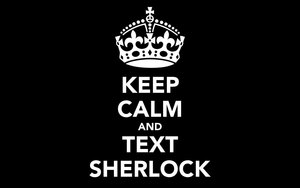 I Am Sherlocked Iphone Wallpaper