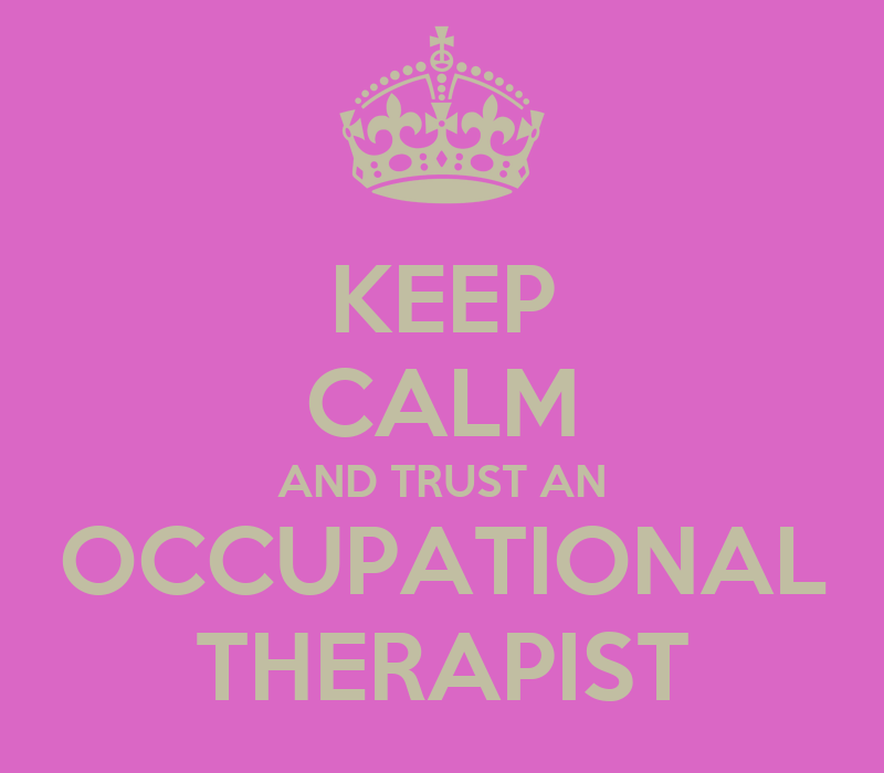 therapy occupational therapist