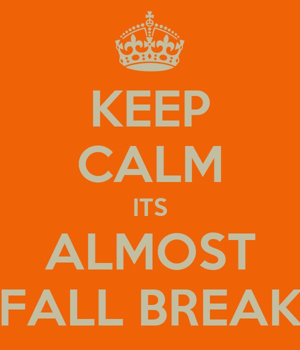 Image result for fall break 2015