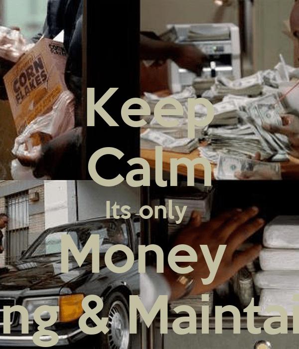 Its Only Money Cartoon