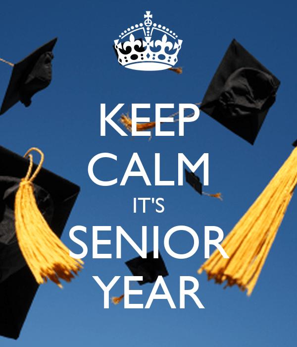 keep calm it's senior year college senior dietetics student