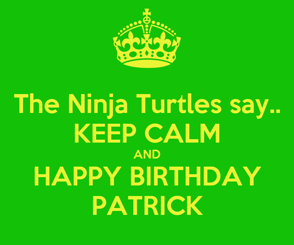 Keep Calm And Be Ninja