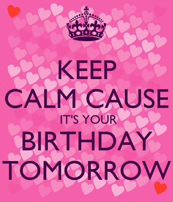 Get Keep Calm Cause Its My Birthday Pictures Propranolols