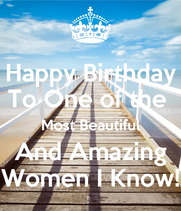 Happy Birthday To One Of The Most Beautiful And Amazing Women I Know Poster Cricket Keep Calm O Matic