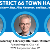 District 66 Town Hall in February