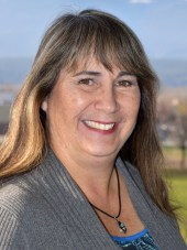 Photo of chairperson of board Marianne VanBuskirk