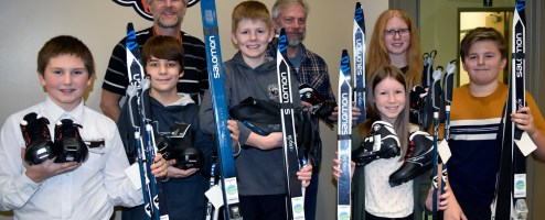 New skis for schools