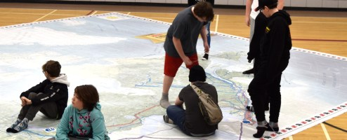 Energy Map at Len Wood
