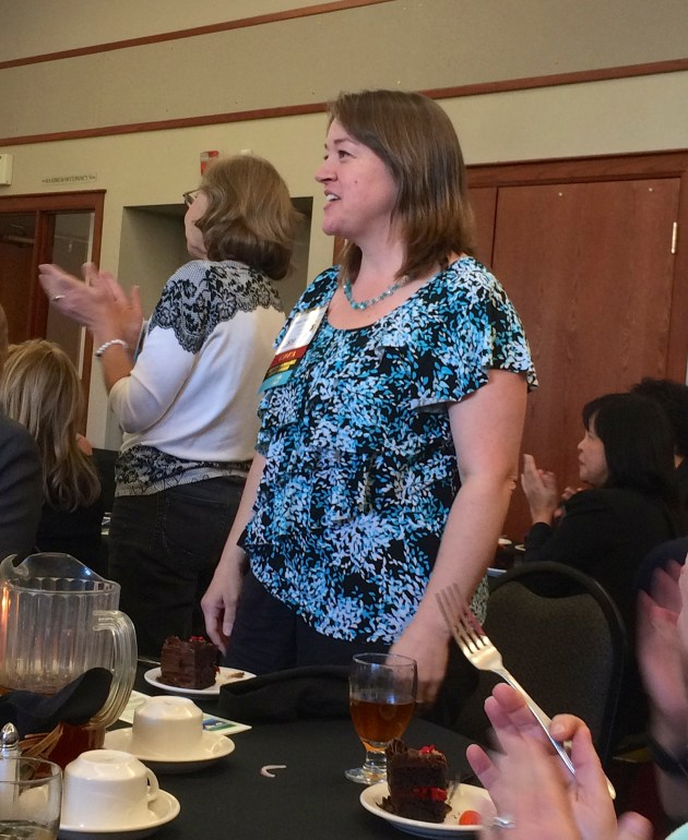 Carrie Thompson - Seattle Chapter Star Award recipient (EDSymposium15, October 2015)