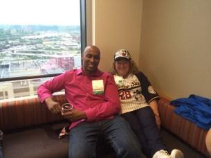 Mike Horn (NY) and Carol Wanda Spradlin (Seattle), EDSymposium16