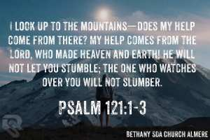 Psalm 121:1-3