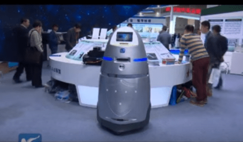 روبوت صيني