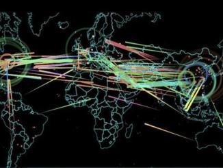 خريطة للهجمات الإلكترونية