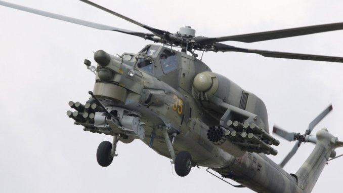 مروحية مي-28  العراق