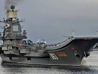 حاملة طائرات الاميرال كوزنتسوف| روسيا