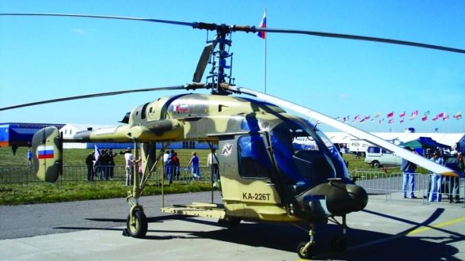 مروحية كا-226 تي الروسة