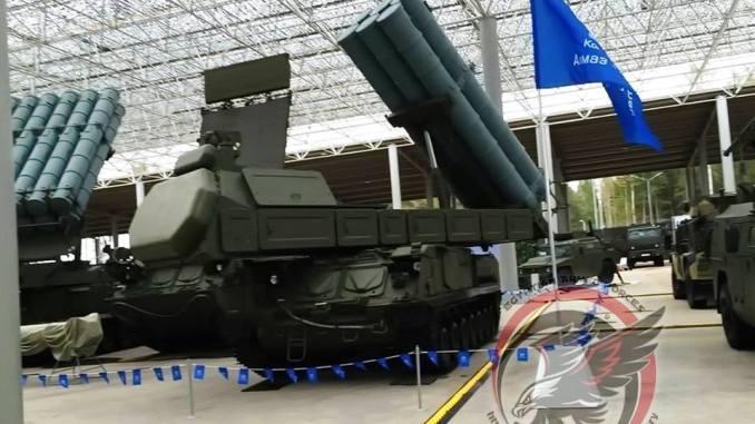 منظومة دفاع جوي روسية Buk M3