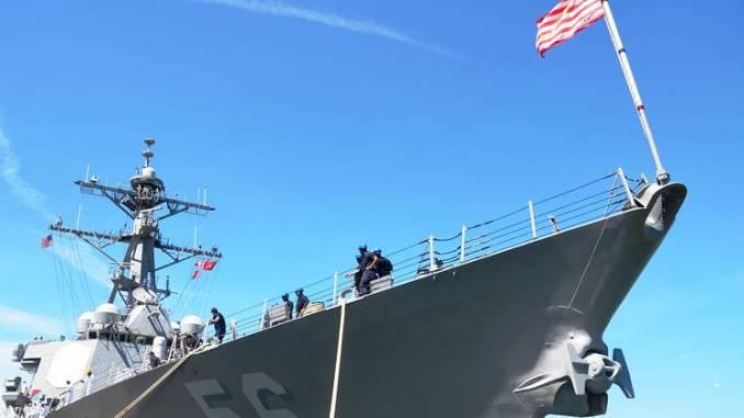 سفينة حربية أميركية| الولايات المتحدة