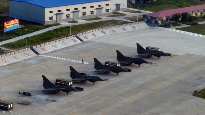 قاعدة جوية صينية