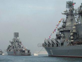 سفن حربية روسية
