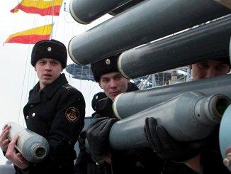 تدريب البحارة العسكريين