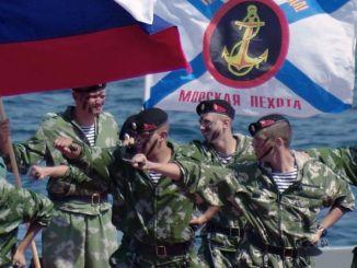 مشاة البحرية الروسية