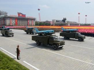 طائرات بدون طيار كورية شمالية
