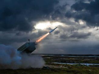 إطلاق صاروخ أمرام