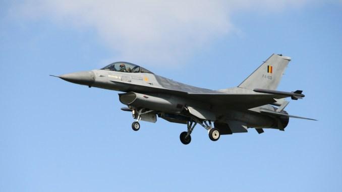 مقاتلة إف-16 البلجيكية