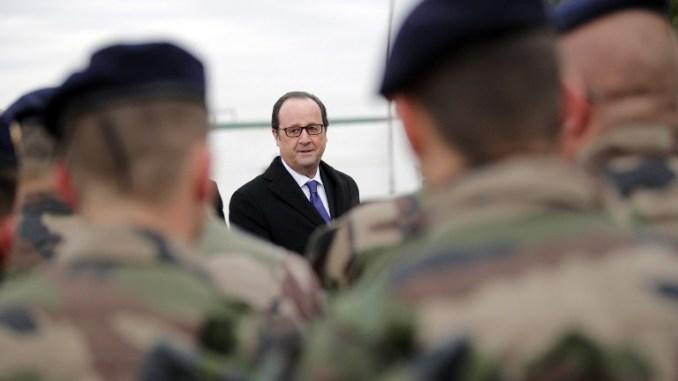 الرئيس الفرنسي في العراق