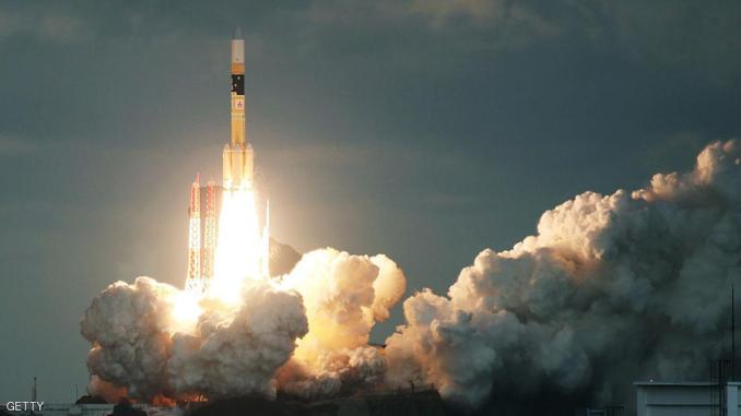 اطلاق قمر إصطناعي ياباني