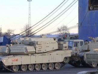 دبابات أميركية إلى بولندا