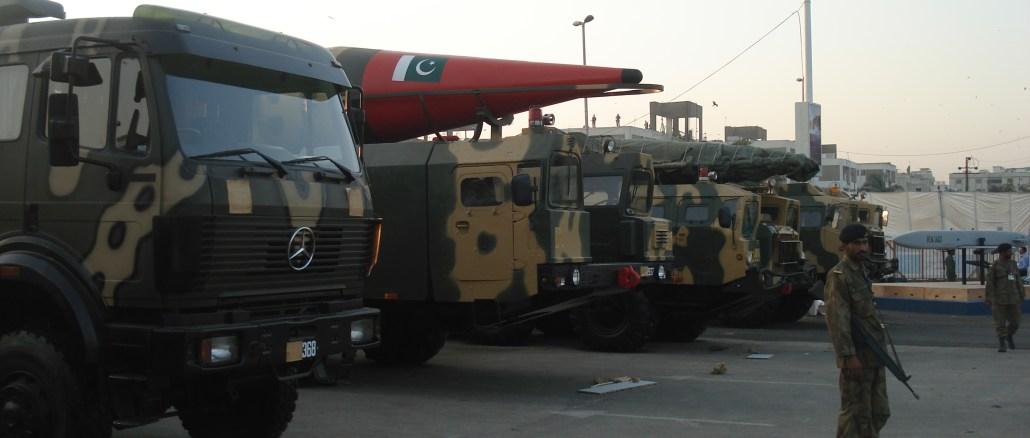 أسلحة تابعة للجيش الباكستاني