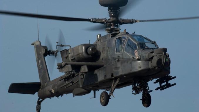 مروحية أباتشي من طراز AH-64