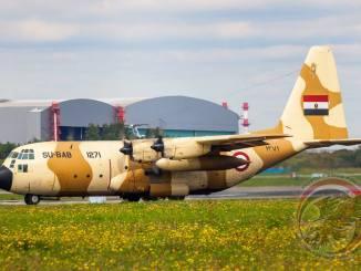طائرة C-130 مصرية
