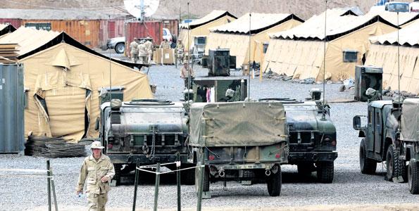 قاعدة عسكرية في جيبوتي