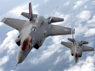 مقاتلتا أف-35 أميركيتان