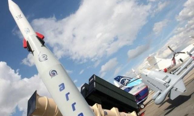 """منظومة """"حيتز-2"""" (السهم) لاعتراض الصواريخ"""